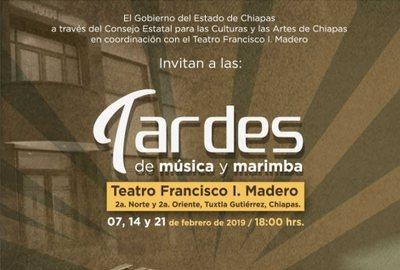 Tardes de Música y Marimba